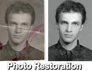 photo restoration and digital image processing